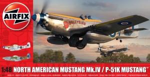 Airfix A05137 North American Mustang Mk.IV - 1:48