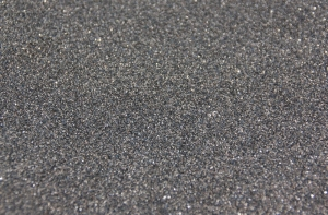 Szuter 0,1-0,6 mm, 200 g - czarny