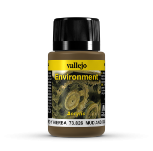 Vallejo 73826 Environment 40 ml. Mud and Grass Effect