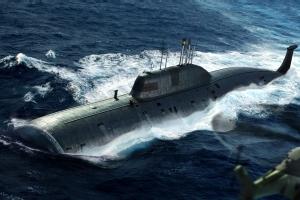 Hobby Boss 83525 Okręt podwodny Project 971 Shchuka-B klasy Akula - 1:350