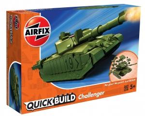 Airfix J6022 Quickbuild - Challenger Tank Green