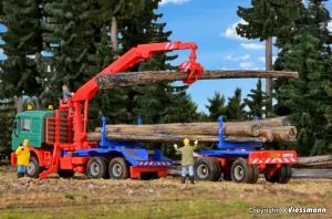 Kibri 12251 H0 Wózek / dłużyca DOLL do drewna