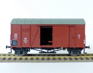 Exact-Train EX20765 Wagon towarowy kryty Oppeln Kdt 118 574 z ładunkiem, PKP, Ep. III