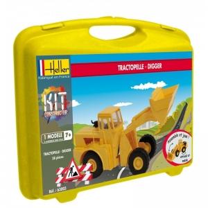 Heller 63003 Constructor Kit - Ładowarka kołowa - 1:60