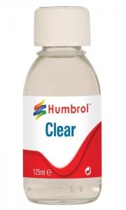 Humbrol Gloss Clear - 125 ml Bottle