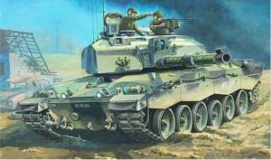 Trumpeter 00308 British Challenger II MBT - 1:35