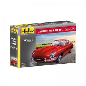Heller 80709 Jaguar Type E 3L8 FHC - 1:24