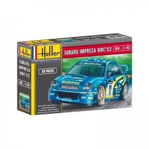 Heller 80199 Subaru Impreza WRC 2002 - 1:43