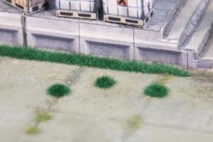 Heki 1822 Kępy i paski trawy ciemnozielonej