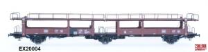Exact-Train EX20004 Wagon do transportu samochodów Laekkms 542, 21 RIV 80 DB 426 5 603-1, DB, Ep. IV