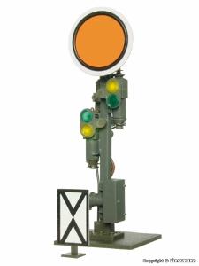 Viessmann 4509 H0 Semafor świetlny Vr0, Vr1 z ruchomą tarczą