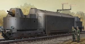 Trumpeter 00223 Niemiecki ciężki pancerny wagon motorowy nr. 16 - 1:35