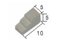 Aedes Ars 2229 Wspornik kamienny średni 50 szt.