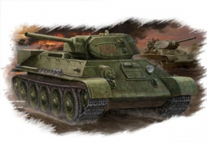 Hobby Boss 84806 Czołg T-34/76 (mod.1942 Factory No.112) Tank - 1:48