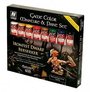 Vallejo 72211 Zestaw Game Color 8 farb - Ironfist Dwarf Berserker