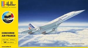 Heller 56445 Starter Set - Concorde Air France - 1:125