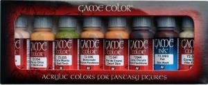Vallejo 72295 Zestaw Game Color 8 farb - Skintones