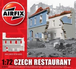 Airfix A75016 Ruiny budynku WWII - Restauracja - Czechy - 1:72