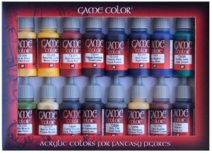 Vallejo 72298 Zestaw Game Color 16 farb - Advanced