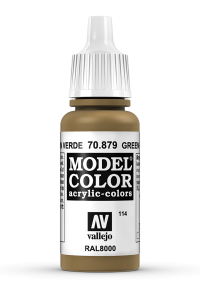 Vallejo 70879 Model Color 70879 114 Green Brown