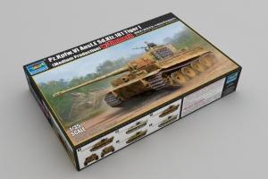 Trumpeter 09539 Czołg Pz.Kpfw.VI Ausf.E Sd.Kfz.181 Tiger I z zimmeritem - 1:35