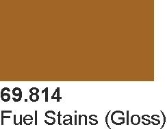 Vallejo 69814 Mecha Color 69814 Fuel Stains (Gloss)