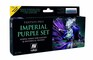 Vallejo 74104 Zestaw Game Color 8 farb - Imperial Purple