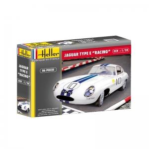 Heller 80783 Jaguar Type E Le Mans - 1:24