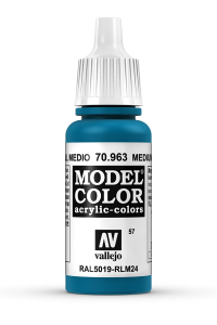 Vallejo 70963 Model Color 70963 57 Medium Blue