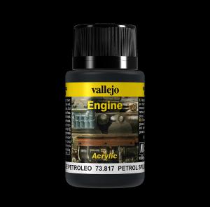 Vallejo 73817 Engine Effects 40 ml. Petrol Spills