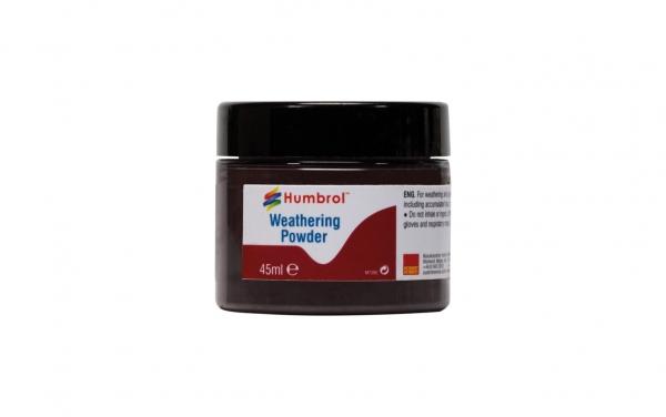 Humbrol AV0011 Pigment Weathering Powder 45 ml Black