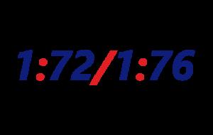 Skala 1:72/1:76