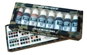 Zestawy farb Vallejo Panzer Aces