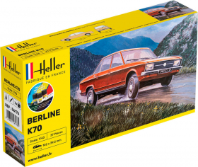 Heller 56176 Starter Set - NSU K70 - 1:43
