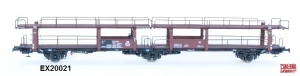 Exact-Train EX20021 Wagon do transportu samochodów Offs 55, 631 128, DB, Ep. III