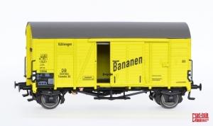 Wagon towarowy kryty Oppeln Bananen Nr. 329551 Tnomehs 3, DB, Ep. III