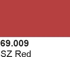 Vallejo 69009 Mecha Color 69009 SZ Red
