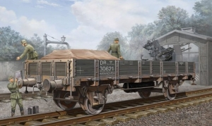 Trumpeter 01518 Wagon platforma DR - 1:35