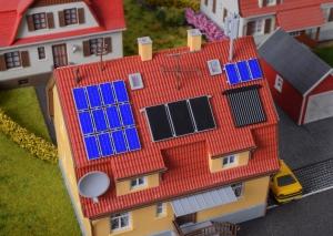 Kibri 38602 H0 Akcesoria - Panele solarne
