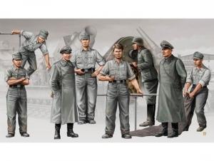 Trumpeter 00409 Figurki - Nemieccy artylerzyści, załoga Morser Karl-Gerät - 1:35