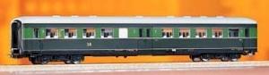 Wagon pasażerski Typ E5,C4up, DR, Ep. III