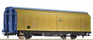 Wagon towarowy z przesuwnymi ścianami Hbbillns PKP Cargo