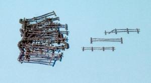 Heki 3135 Ogrodzenie drewniane H0, 30 szt.