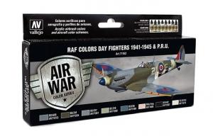 Zestaw Air War 8 farb - WWII RAF Day Fighters