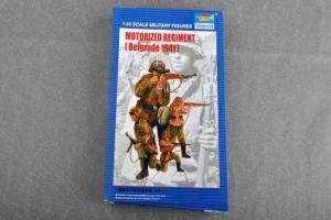 Trumpeter 00403 Figurki - Motorized Regiment - Belgrad 1941 - 1:35