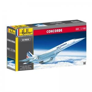 Heller 80445 Concorde Air France - 1:125