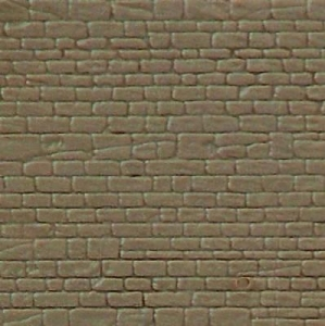 Płytka modelarska 20x12 cm - Ściana kamienna