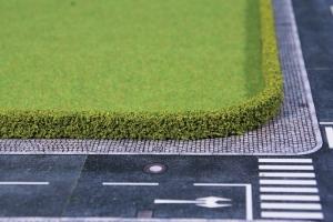 Heki 1751 Żywopłot zielony 12 x 7 mm, cm, 2 szt