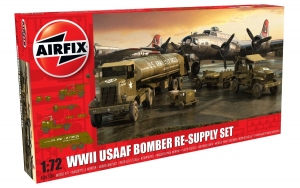 WWII USAAF Air Force Bomber Resupply Set 1:72