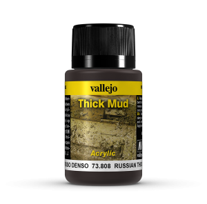 Vallejo 73808 Thick Mud 40 ml. Russian Mud